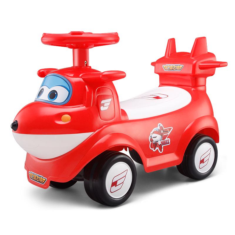 超级飞侠 儿童扭扭车学步车婴儿溜溜车摇摇车宝宝户外健身玩具车滑滑车 乐迪摇摆车