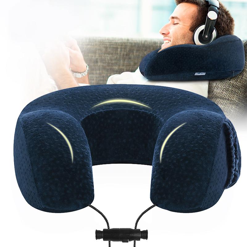 佳奧護頸U型枕頭 人體工學護頸椎記憶枕芯