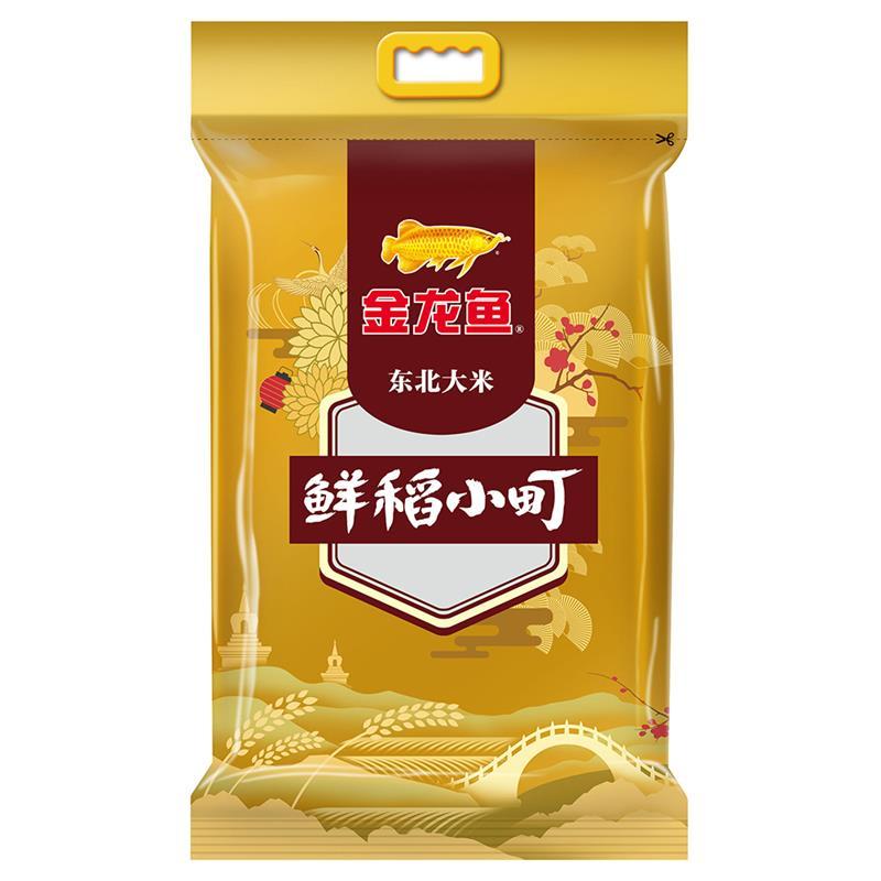 金龙鱼 东北大米 寿司香米 粳米 鲜稻小町大米 5KG 当季新米