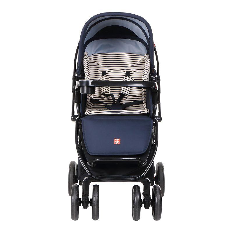 gb好孩子嬰兒推車 寬大全蓬舒適雙向嬰兒推車 C400-P303BB 藏青