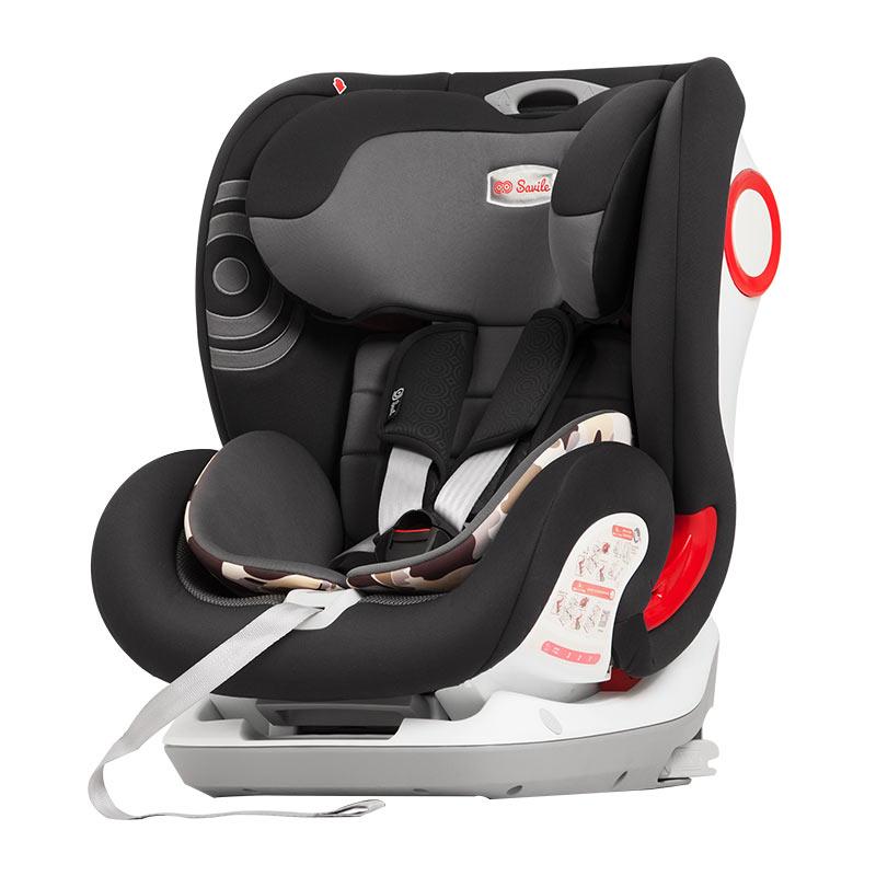 SAVILE貓頭鷹 汽車兒童安全座椅9個月-12歲 盧娜V505E 黑鷹