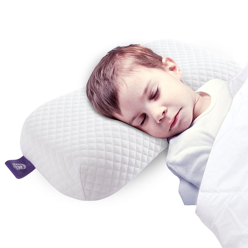 梦洁宝贝 枕芯 健康儿童成长护颈枕头 纯棉防螨舒适记忆枕 3-6岁 M码