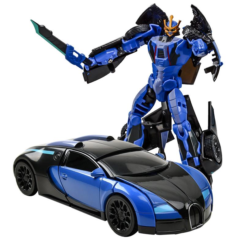 佳奇(JIAQI)JQ6101 機變英盟之叱風云 手動變形合金版 仿真汽車模型 兒童機器人禮物玩具