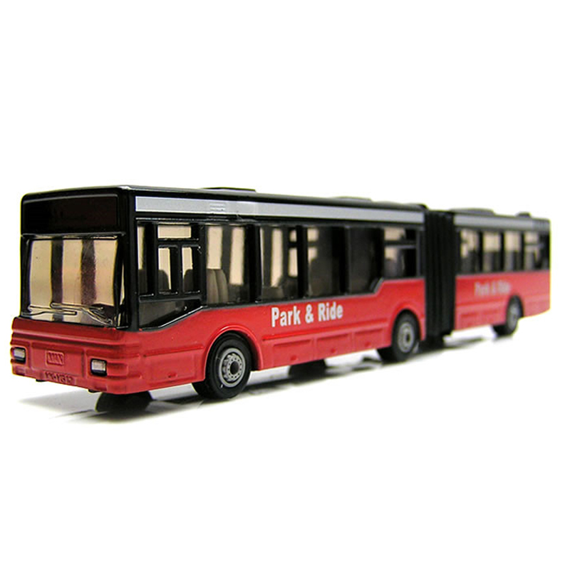 siku 公交车玩具巴士客车出租车锌合金车模型仿真儿童汽车玩具车模型男孩-铰接式公共汽车1617