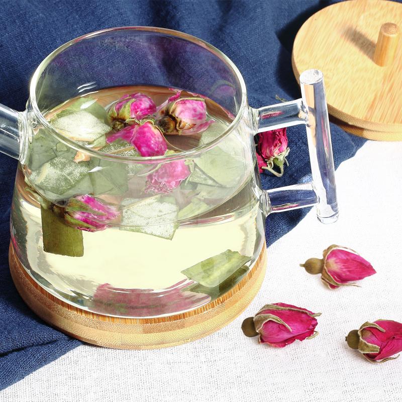 貢苑 茶葉 花草茶 玫瑰花茶 玫瑰茶200g可搭荷葉茶杭白菊