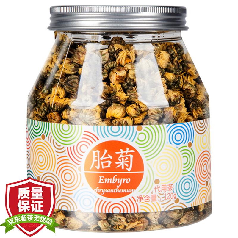 中國香港品牌 虎標 茶葉 花草茶 胎菊花茶 杭白菊120g