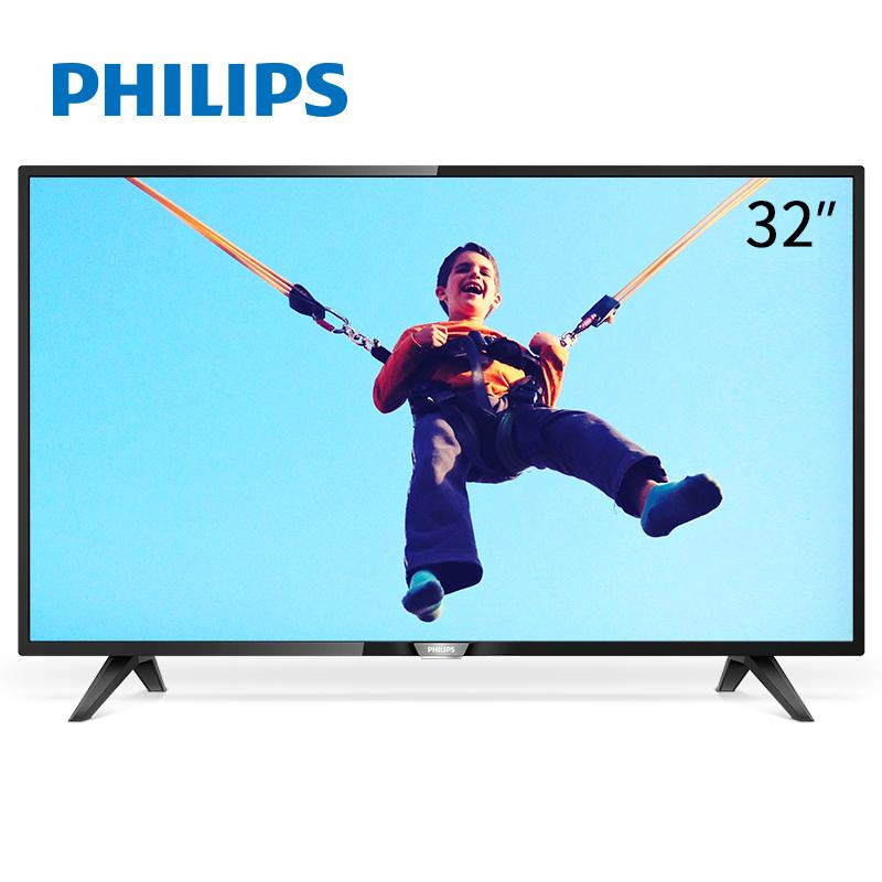 飞利浦(PHILIPS)32PHF3292/T3 32英寸 丰富接口 环绕音效 高清LED液晶平板电视机(黑色)
