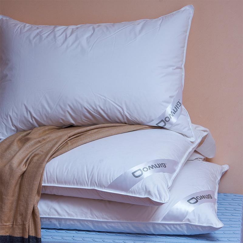 Downia 枕芯 萬豪五星級酒店同款 90%白鵝絨枕 羽絨枕頭 74*48cm