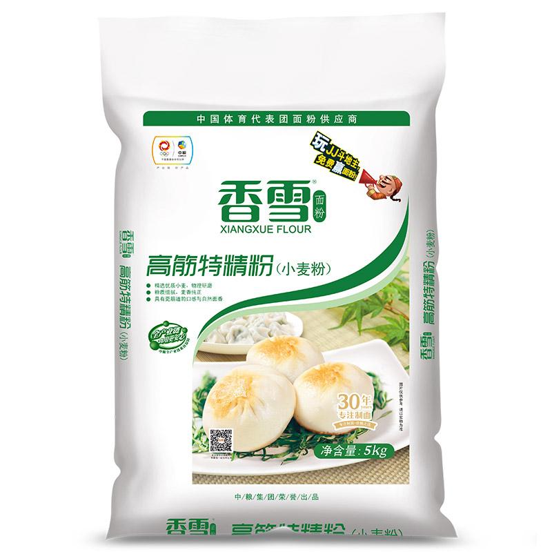 香雪 高筋特精粉 面粉 5kg (新老包裝隨機發貨)