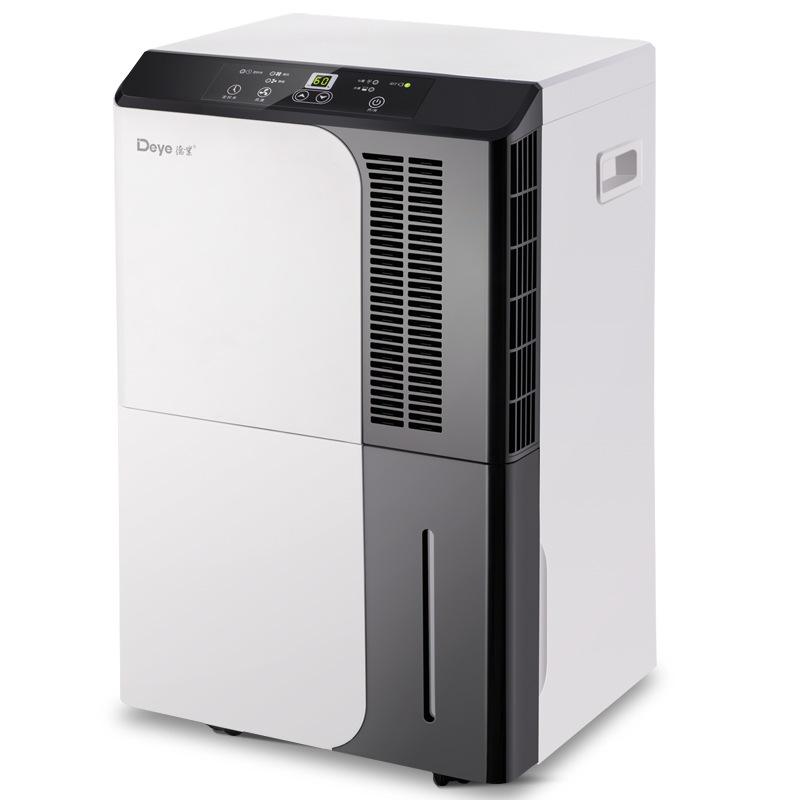 德业(Deye)除湿机/抽湿机 除湿量50升/天 噪音50分贝 家用地下室别墅商用工业吸湿器 DYD-D50A3