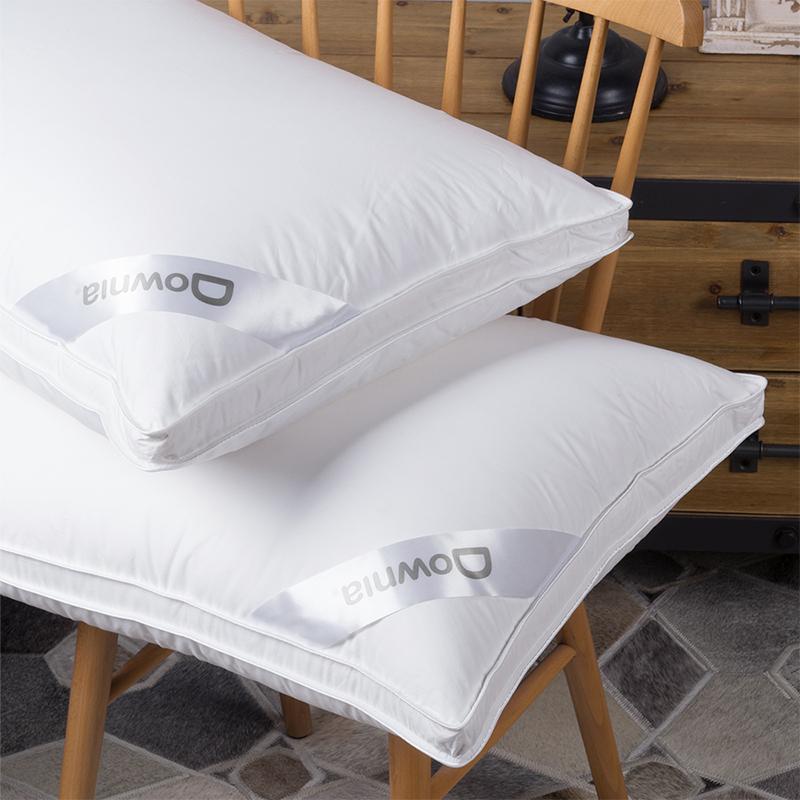 Downia 枕芯 威斯汀五星级酒店同款 90%白鹅绒枕 外立体羽绒枕头 48*74+3cm