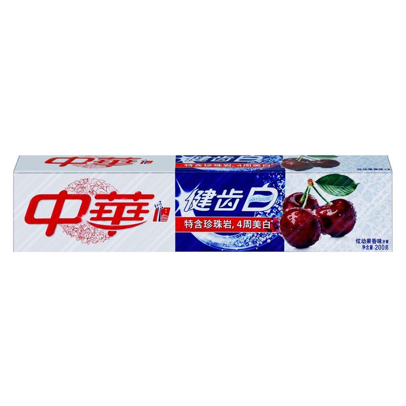 中华(ZHONGHUA)健齿白 炫动果香牙膏200g