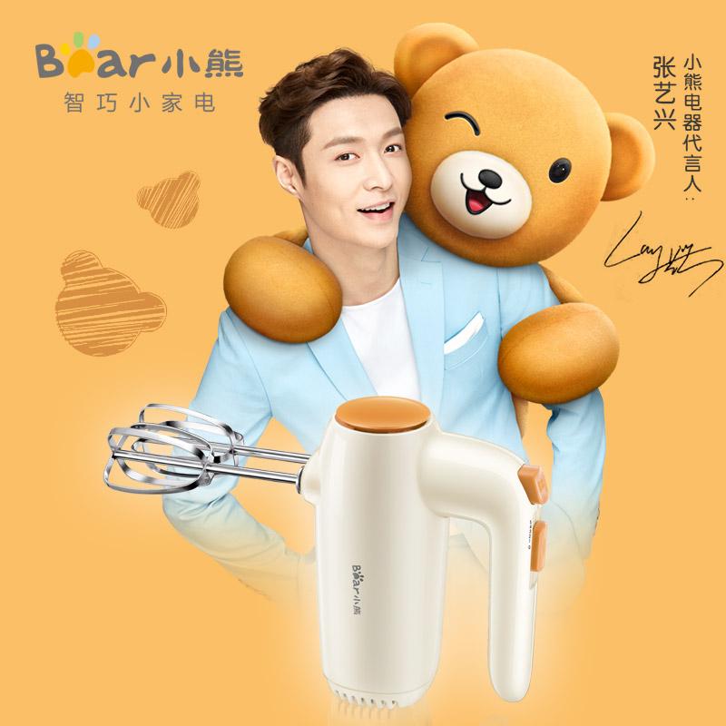 小熊(Bear)料理机 打蛋器电动家用迷你打奶油机搅拌器烘焙手持DDQ-B01K1