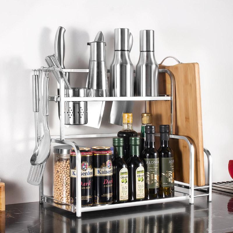 四季沐歌(MICOE) 厨房置物架收纳架调料架刀架筷子筒HB03A30C2